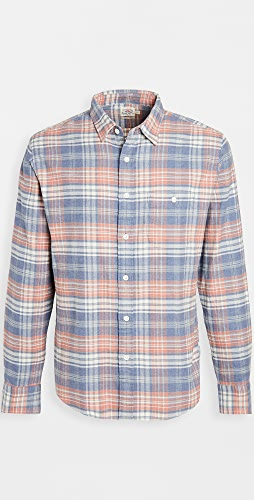 Faherty - Stretch Sweaview Flannel Shirt