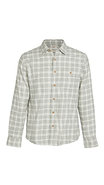 Faherty Stretch Sweaview Flannel Shirt