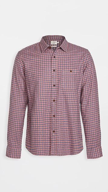 Faherty Stretch Sweaview Flannel Shirt