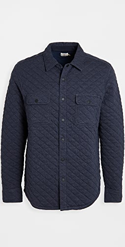 Faherty - Epic Quilted Fleece CPO Shirt Jacket