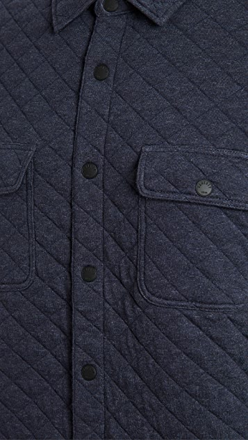 Faherty Epic Quilted Fleece CPO Shirt Jacket
