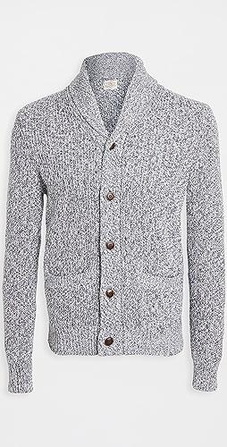 Faherty - Marled Cotton Cardigan