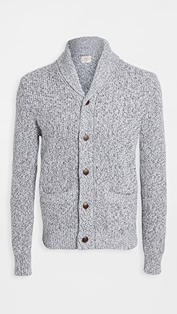 Faherty Marled Cotton Cardigan