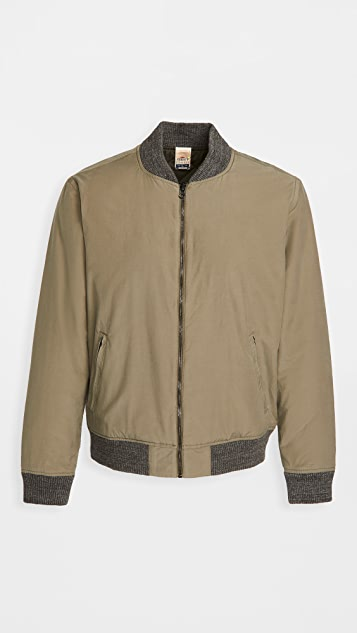 Faherty Reversible Surplus Bomber Jacket