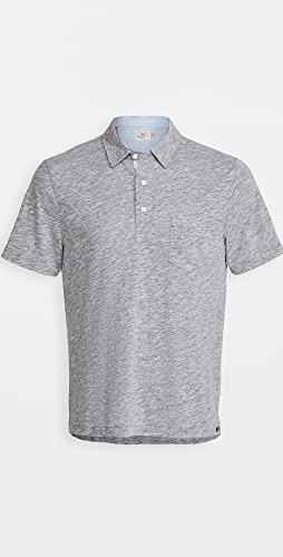 Faherty - Short Sleeve Heather Polo