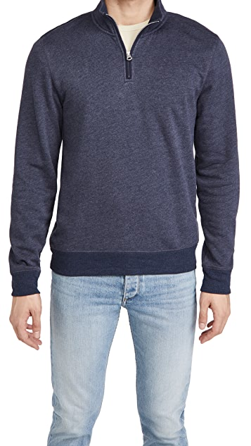 Faherty Transition Zip Pullover