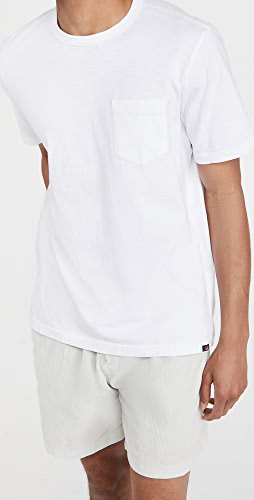 Faherty - Sunwashed Pocket Tee