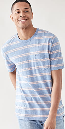 Faherty - Surfrider Stripe Tee