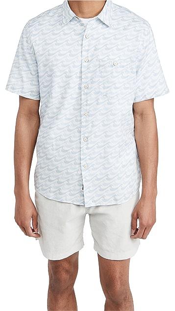 Faherty Short Sleeve Playa Shirt