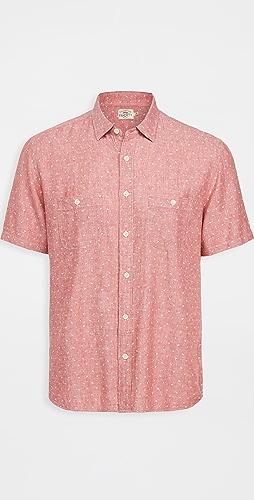 Faherty - Short Sleeve Island Work Shirt