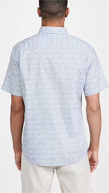 Faherty Short Sleeve Playa Shirt