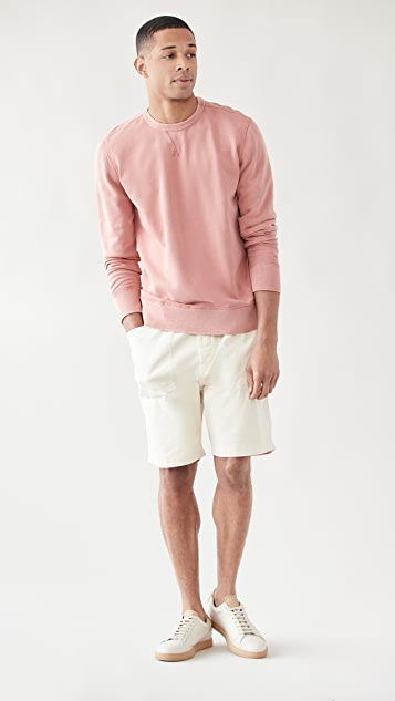 Faherty Beach Crew Sweatshirt