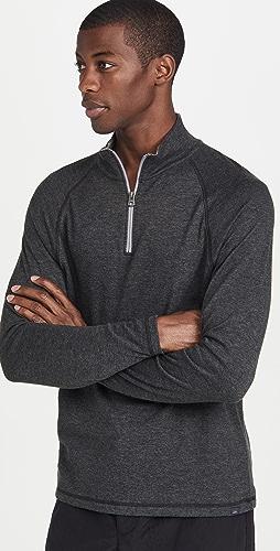 Faherty - Cloud Quarter Zip Sweatshirt