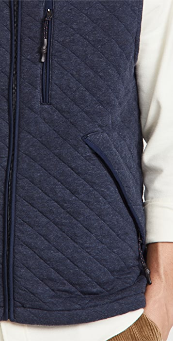 Faherty Epic Quilted Vest