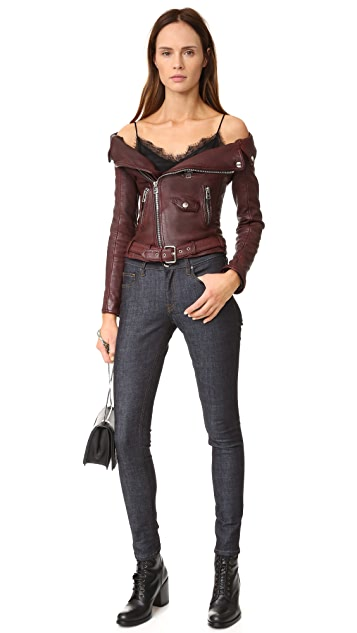 Faith Connexion Sailor Leather Jacket