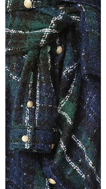 Faith Connexion Tweed Skirt