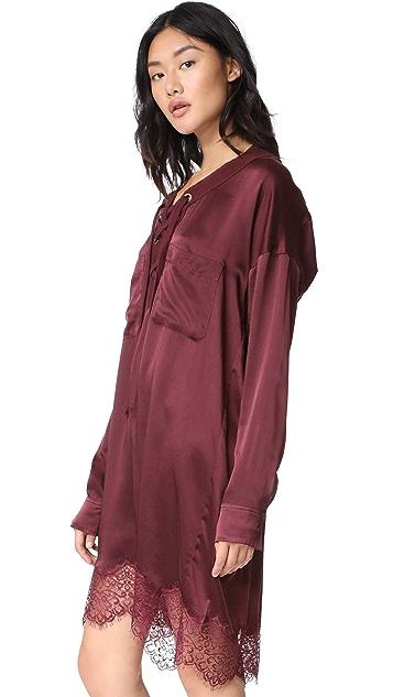 Faith Connexion Silk Lace Dress