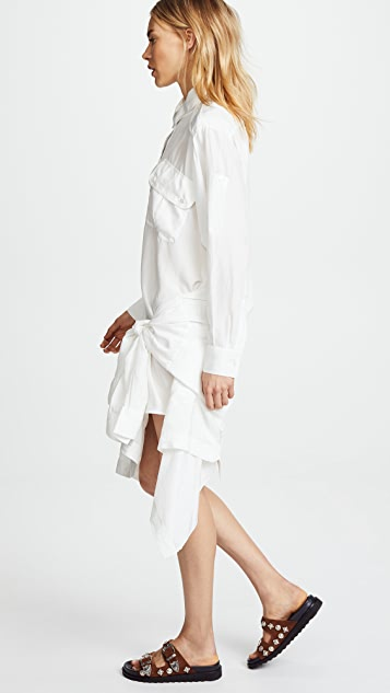 Faith Connexion Shirt Skirt Dress