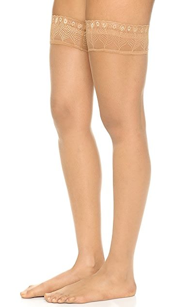 Falke Lunelle 8 Peacock Stay Up Tights
