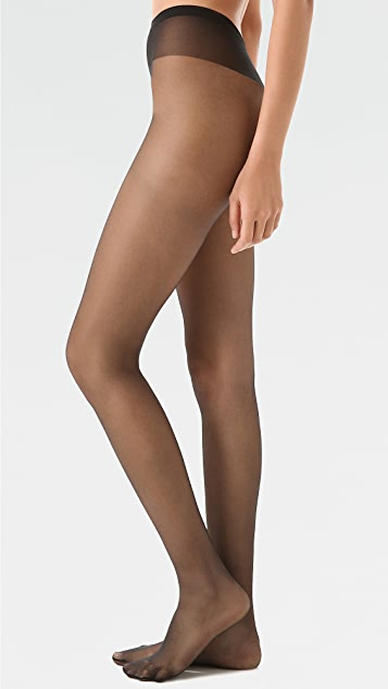 Falke Fond de Poudre Sheer Tights - Black