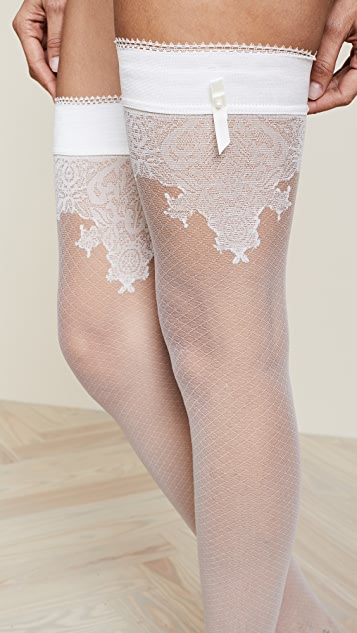 Falke Ceremonial Stay Up Tights