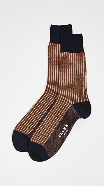 Falke Oxford Stripe Socks