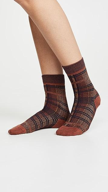 Falke Moorland Plaid Socks