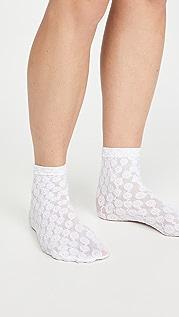 Falke 甜美花朵短袜