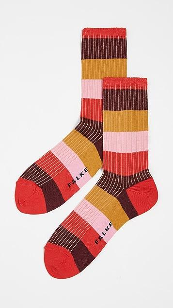 Falke Blocky Stripe Socks