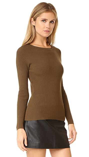 525 America Rib Crew Neck Sweater