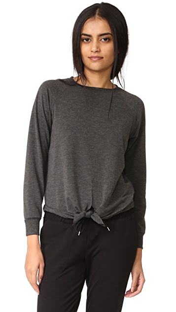 525 America Tie Front Sweater