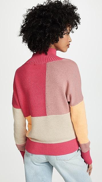 525 America Colorblock Sweater