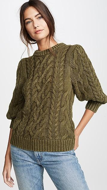 525 Puff Sleeve Sweater