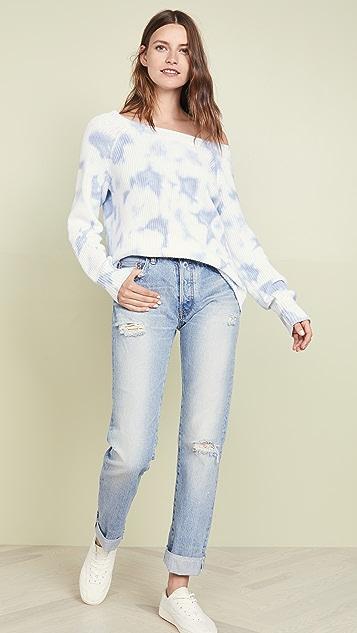525 America Tie Dye Shaker Sweater