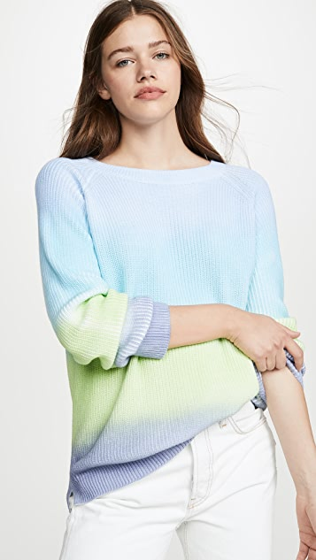 Ombre Shaker Sweater by 525 America