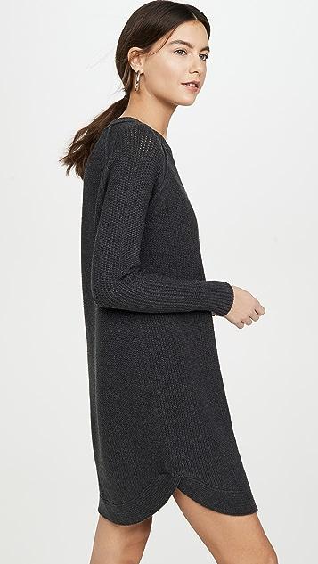 525 Платье-свитер с рукавами реглан