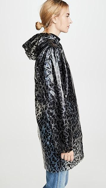 525 Плащ с леопардовым принтом