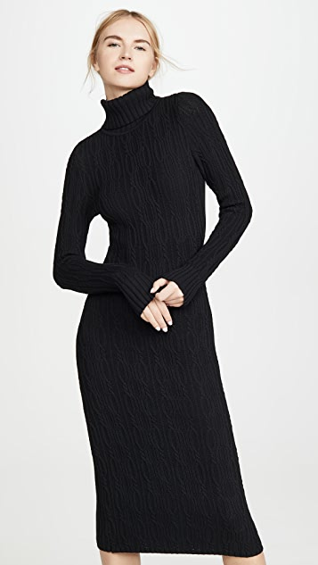 525 Turtleneck Sweater Dress