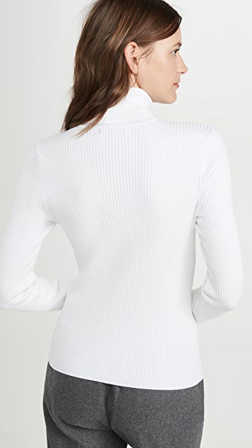 525 Rib Turtleneck Pullover