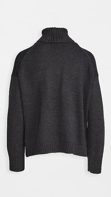 525 长袖高领毛衣
