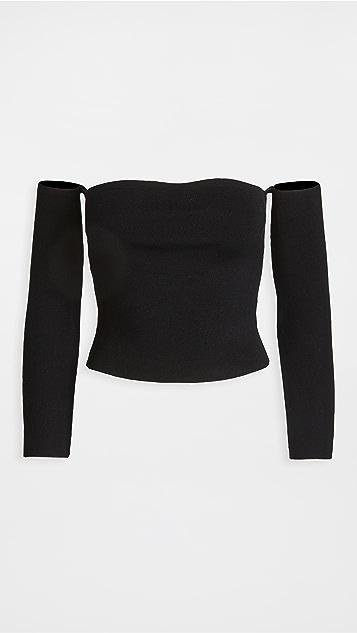 525 衣袖直筒套头衫