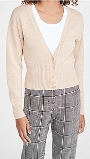 525 棉质罗纹系扣衫
