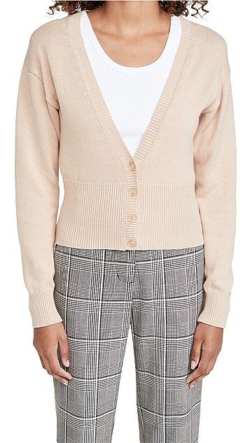 525 Cotton High Rib Cardigan