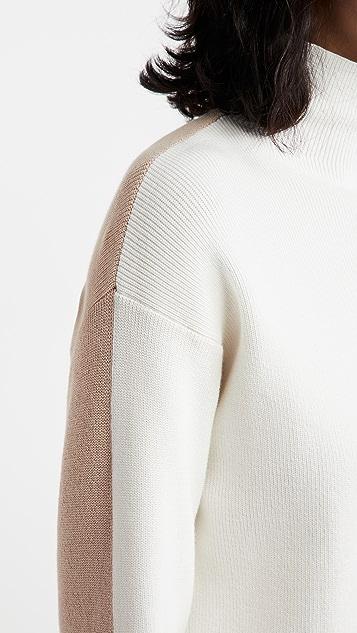 525 Cotton Color Block Dress