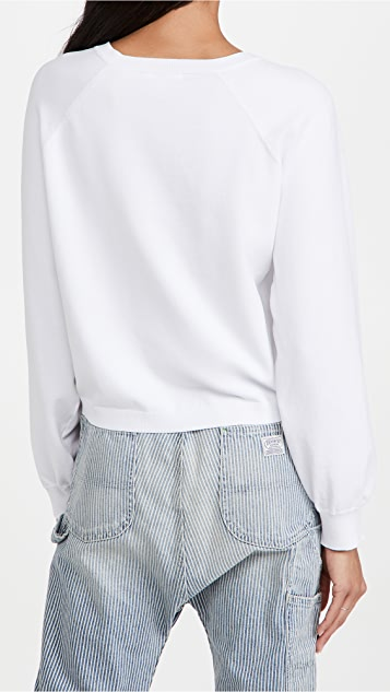 525 Spongy Cropped Pullover