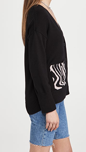 525 棉质口袋系扣衫