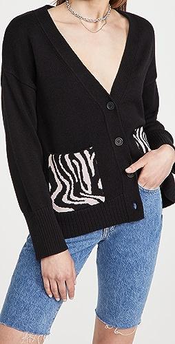 525 - Cotton Pocket Cardigan