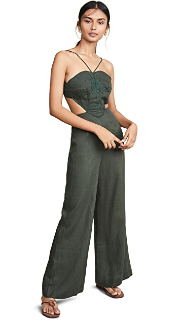 FARM Rio Monstera Jumpsuit