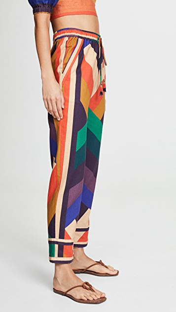 FARM Rio Amanda Stripe Pants