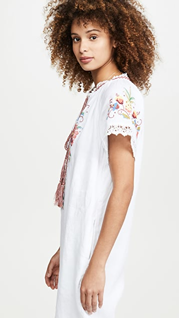 FARM Rio Embroidered Jumpsuit